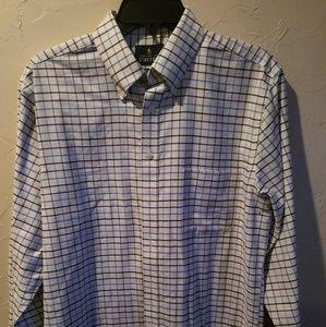 White Dress shirt with stripes